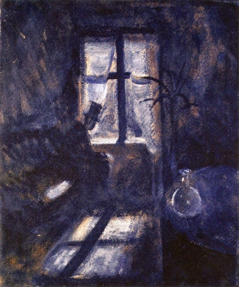 Night in Saint-Cloud by Edvard Munch